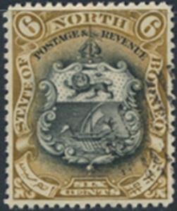 North Borneo  SG 101 Used  perf 14 please see scan & details