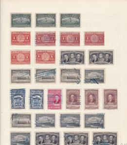 Honduras  Stamps on page Ref 15559