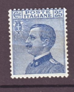 J22528 Jlstamps 1908-27 italy mh #100 king