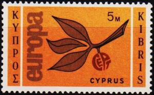 Cyprus. 1965 5m S.G.267 Mounted Mint