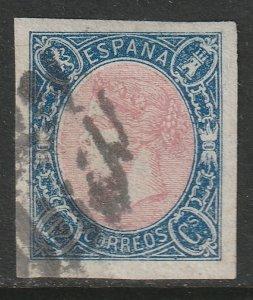 Spain Sc 69 used nice margins
