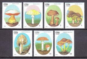 Cuba - Scott #3000-3006 - MNH - SCV $5.45