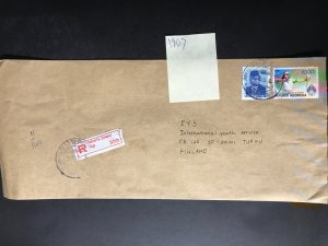 Indonesia #780//B242 Cover to Finland (1970-1999) Cover #6481
