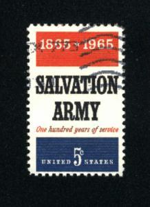 USA #1267  used 1965 PD .08