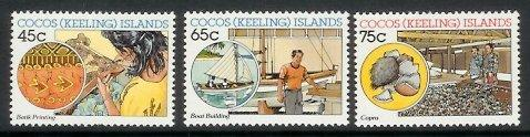 Cocos Is - 1987 Cocos (Keeling) Islands Malay Industries (MNH)