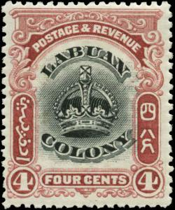 Labuan Scott #101 Mint