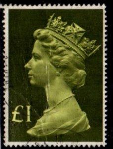 Great Britain - #MH169 Machin Queen Elizabeth II - Used