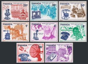 Rwanda 746-753,MNH.Michel 807-814. Telephone-100,1976.Alexander Graham Bell,