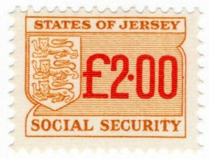 (I.B) Jersey Revenue : Social Security £2.00