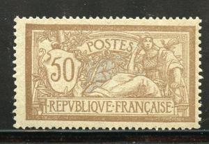 FRANCE 1900 MERSON  SCOTT#123 MINT NEVER  HINGED SCOTT  $325.00