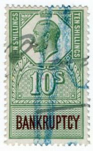 (I.B) George V Revenue : Bankruptcy 10/-