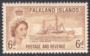 FALKLAND ISLANDS SCOTT 125