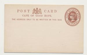 BECHUANALAND 1890's, 1d CARD VF UNUSED , H&G#1a (SEE BELOW)