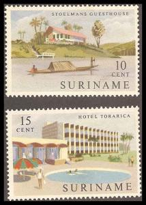 Surinam 306-307 Mint VF H