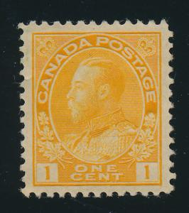 Canada Stamp Scott #105, Mint Hinged - Free U.S. Shipping, Free Worldwide Shi...