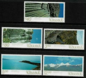 Armenia #452-6 MNH Set - Scenic Views