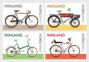 2019 Norway Bicycles SA S4 (Scott NA) MNH