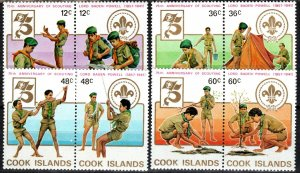 Cook Islands #700-03 MNH CV $6.65 (X4124)