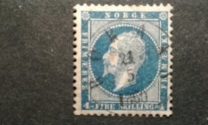 Norway #4 used e208 10813