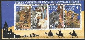 CAYMAN ISLANDS SGMS815 1995 CHRISTMAS MNH
