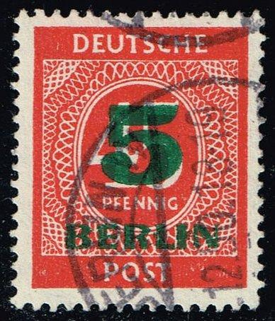 Germany #9N64 Numeral; Used (0.35)