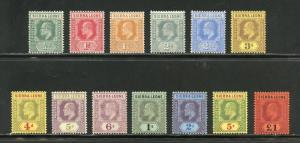 SIERRA LEONE  SCOTT#90/102,SG#99/111  MINT LIGHT HINGED--SCOTT $479.00