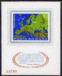 Rumania 1975 European Security & Co-operation Confere...