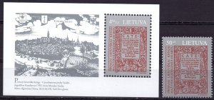 Lithuania. 1997. 630 bl9. 1st edition of the book. MNH.