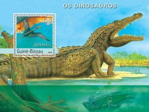 Guinea-Bissau MNH S/S Dinosaurs 2003