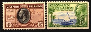 Cayman Scott 85 - 86 Unused Hinged