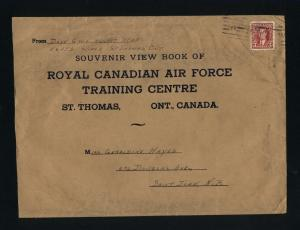 Canada #233   postal stationary  used  1937 PD