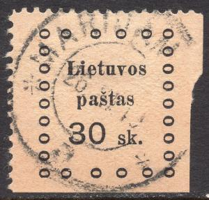LITHUANIA SCOTT 16