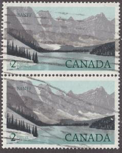 Canada 936 Hinged 1985 National Park Definitives $2.00 Pair