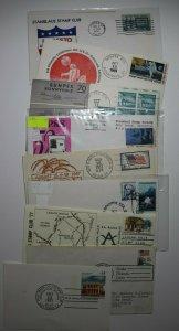 Multiple California Stamp Shows & Exhibition Lot of 11 Philatelic Expo Cachet