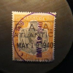 Bermuda 127  1950   VF  Used