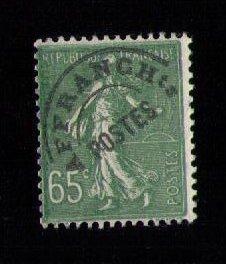 FRANCE Yvert 49 Preobliteres (Precancel)Sc #150 Sower F-VF