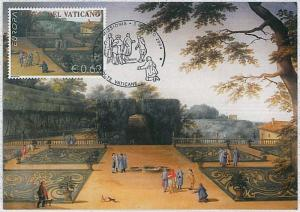 37283   MAXIMUM CARD - VATICANO : EUROPA issue  - 2004