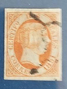 Spain 1851 2 r. endif. 8 CV: $ 11.000