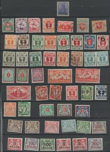 Old Germany Danzig stamp colection **