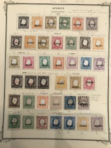 Amazing Azores Collection - 1868/1939 Mint / Used -- #15 with CERT. C$9700.00 ++