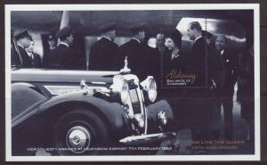 2002 Alderney 50th Anniv Of Accession MS U/M SGMSA184