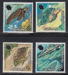 Cayman Islands Scott #283-286 MNH