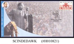 INDIA - 2021 DR. B.R. AMBEDKAR SPECIAL COVER WITH KAKINADA CANCELLATION