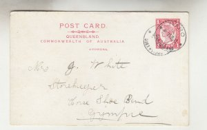 QUEENSLAND, Postal Card 1911 1d. Red, TIARO cds. to Gympie.