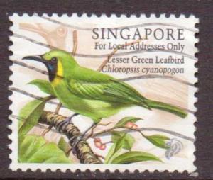 Singapore  #834  used  (1998)  c.v. $0.35