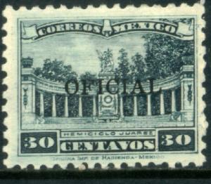 MEXICO O221, 30c OFFICIAL. Mint, Never Hinged. F-VF.
