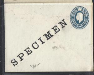 LEEWARD ISLANDS (P0110B) KE  2 1/2D PSE SPECIMEN