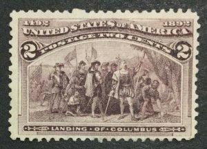 MOMEN: US #231 UNUSED #31735