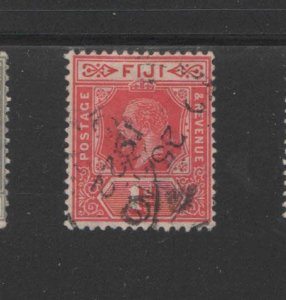 FIJI #81  1912  1p  KING GEORGE V     F-VF  USED