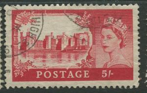STAMP STATION PERTH Great Britain #310 QEII Castle Definitive Used CV$4.25.